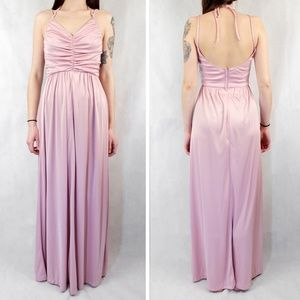 ✨VTG✨ 80s Strappy Gown